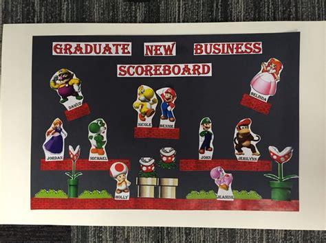 Mario Bros Themed 4dx Board Work Stuff Pinterest Scoreboard Ideas