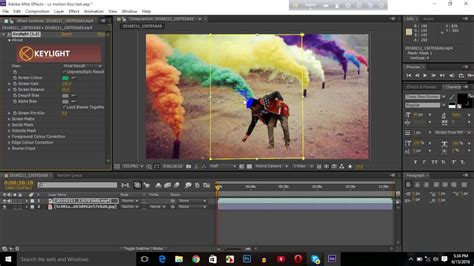 tutorial after effects background how to change video background in after effect green