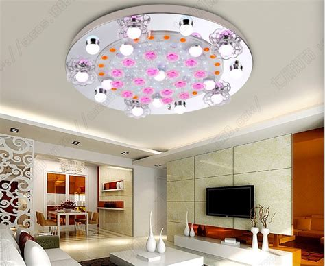 Flush Ceiling Lights Living Room Flush Mount Modern Brief Led Ceiling Lights For Living Room Luminarias Para Sala