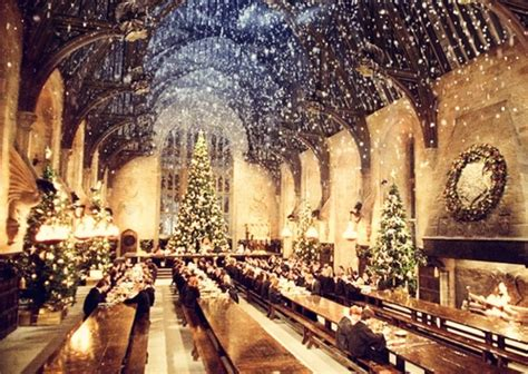 christmas in hogwarts great hall audio atmosphere