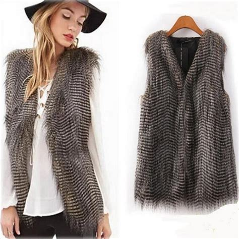 hairvstylesbforvfullerfacedb60 year haired shearling vest sheepskin vest with brown hair