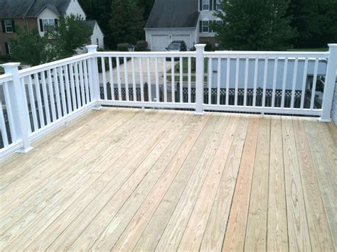 Decking Banister Wood Deck Residential Photo Gallery Photo Gallery