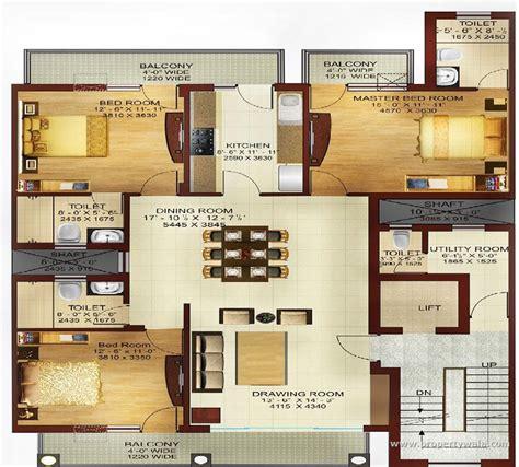 Minnie Winnie Floor Plans by Dlf Hyde Park Mullanpur Mohali Apartment Flat