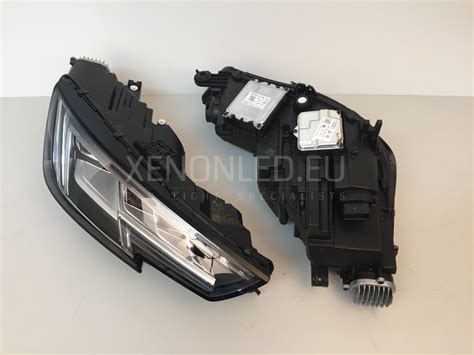 audi matrix headlights audi a4 s4 rs4 8w b9 2015 full led matrix headlights