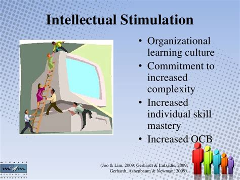 Intellectual Stimulation For Higher Education Mba by Transformational Culture Leadership