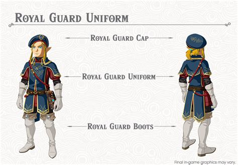 Dining Room Table Parts zelda botw royal guard s armor set location