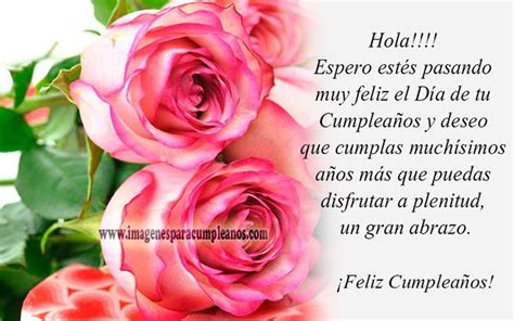 imagenes de flores para cumpleaños im 225 genes de feliz cumplea 241 os con flores ツ tarjetas y