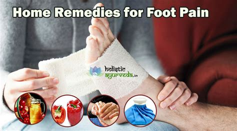 7 home remedies for foot treatment for tired