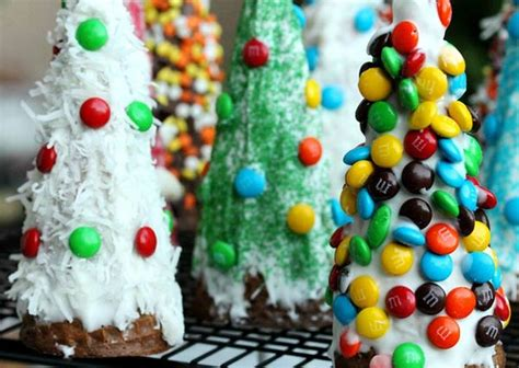 Diy wafer cone decorations for kid s christmas dessert table