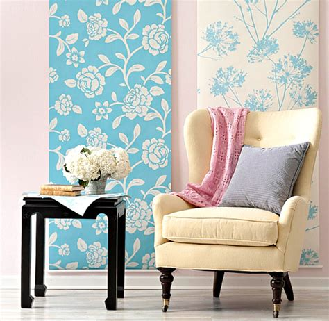 How To Make A Wall Paper - creative diy wallpaper for a special touch
