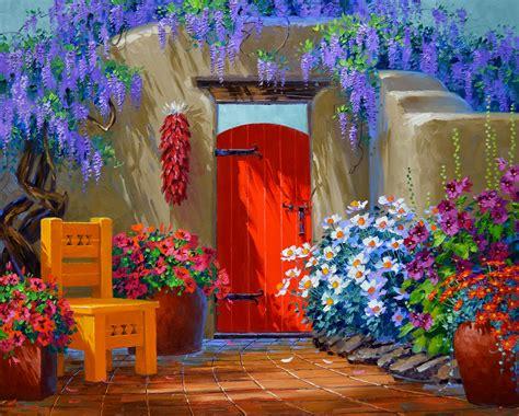 colorful painting colorful celebration mikki senkarik