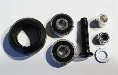 Delrin V Wheel Kit By 3dp Store solid v wheel kit maker store usa