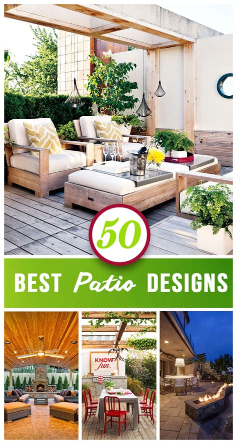 best patio designs 50 best patio ideas for design inspiration for 2017