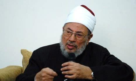 Islam Jalan Tengah Dr Yusuf Qardhawi yusuf qardhawi mundur dari al azhar republika