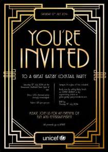gatsby invitations templates 1000 ideas about gala invitation on event