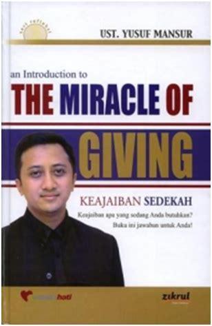 pengajaran tauhid keajaiban sedekah the miracle of giving
