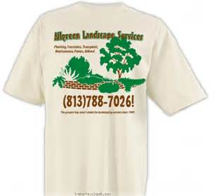 landscaping t shirts landscape business design 187 sp222 bricks and plants