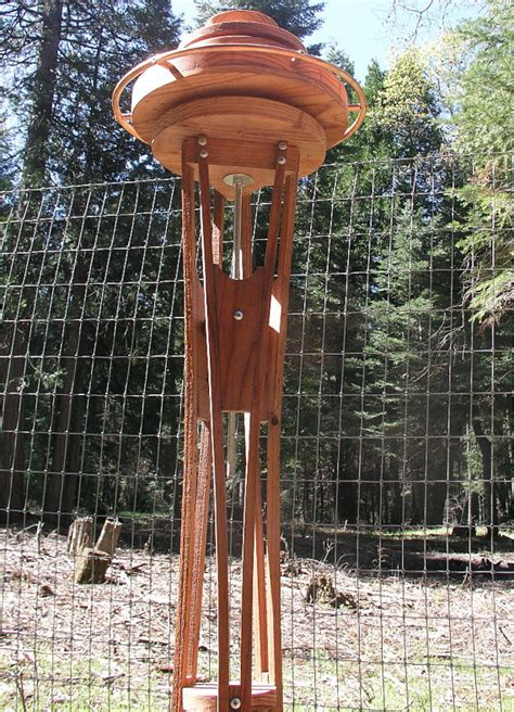 space needle bird feeder