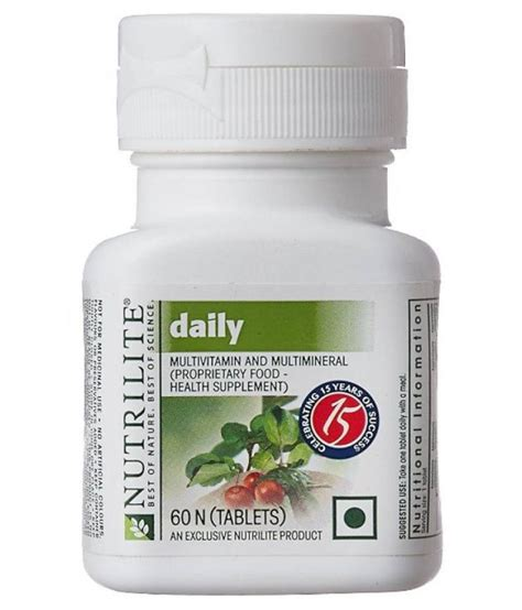 Vitamin Daily Amway Amway Daily 60 No S Multivitamins Capsule Available At