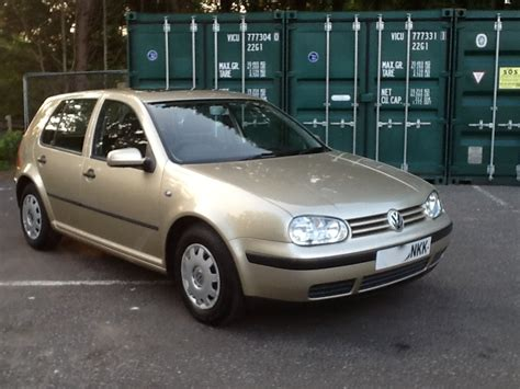 Golf 1 6 Auto by 2000 Volkswagen Golf 1 6 S Auto Part Ex To Clear Mrs