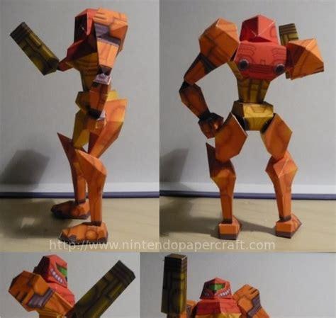 Metroid Papercraft - metroid papercraft samus aran papercraft paradise