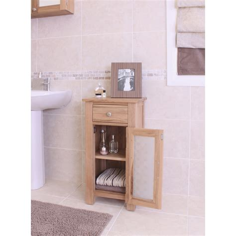 Solid Oak Bathroom Furniture Mobel Bathroom Cabinet Small Storage Cupboard Solid Oak Bathroom Furniture Ebay
