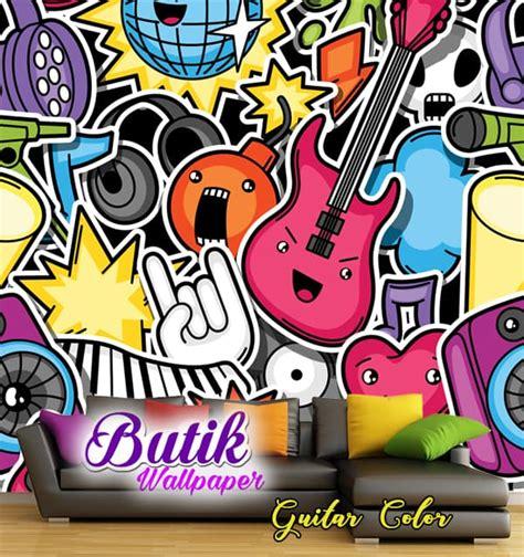 Custom Motif Kamera jual wallpaper custom motif grafity gitar butik