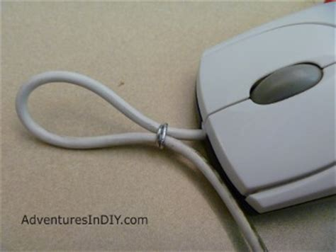 Gund Mice Zip On Wire diy make a computer mouse ornament adventures in diy