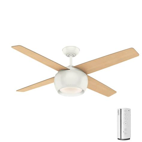 duncan 52 ceiling fan duncan 52 in led indoor fresh white flush mount