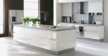 Contemporary White Kitchen Designs Very Contemporary White Kitchen Designs Stylish Eve