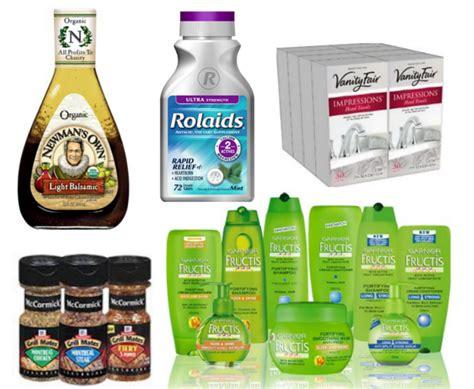 printable grocery coupons red plum new printable coupons garnier newman s own mccormicks