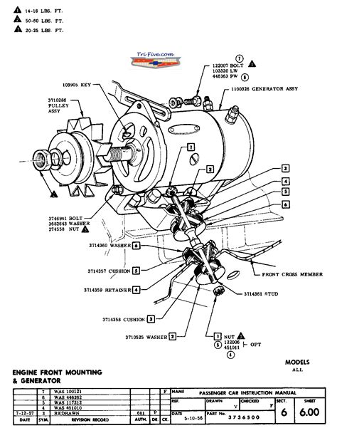 1955 chevrolet wiring diagrams 1955 classic chevrolet