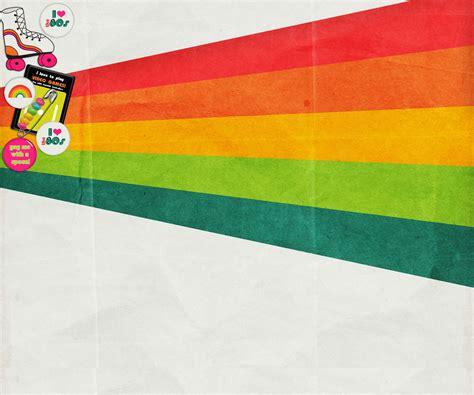 theme powerpoint retro 80s wallpaper wallpapersafari