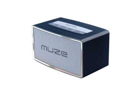 Speaker Bluetooth Muze muze bluetooth speaker desain mini suara menggelegar