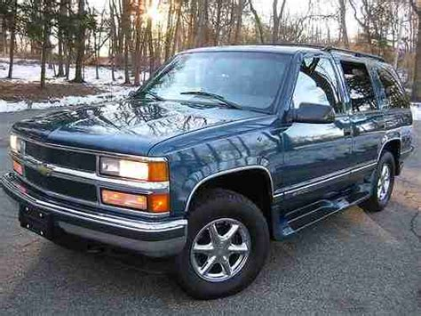 repair anti lock braking 1995 chevrolet 1500 windshield wipe control buy used 1995 chevy tahoe 1500 4x4 low 66k miles in montville new jersey united states for
