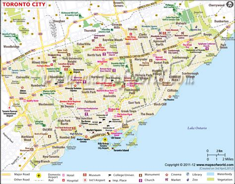 where is toronto canada on a map toronto canada map america
