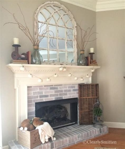 fireplace decor ideas mirror decorating ideas from your instagram arch mirror