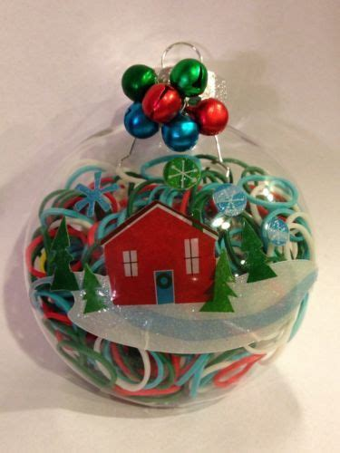 rainbow loom christmas ornament 225 loops