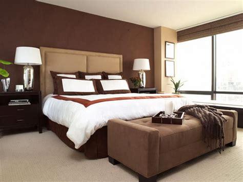 warm colors for bedrooms دهانات باللون البني بغرف النوم المرسال