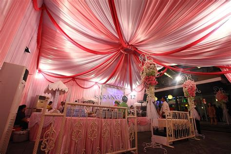 color theme pink green leaf resto ml malang decoration tent decor color themes