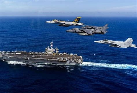 Mofa Vietnam by U S Aircraft Carrier S Visit Contributes To Regional