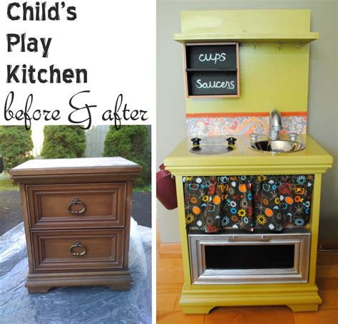 homemade play kitchen ideas diy child s play kitchen jenna burger