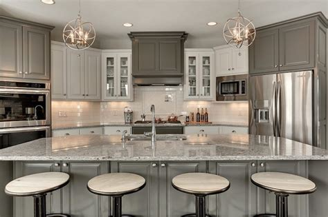 moon white granite with cabinets moon white granite countertops transitional kitchen