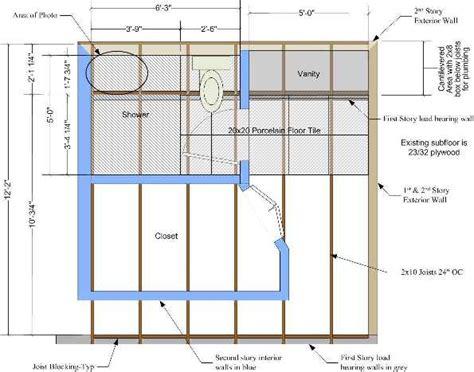 master bath remodel floor structure concern ceramic tile advice forums john bridge ceramic tile