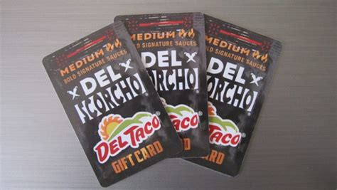 Del Taco Gift Cards - fast food source fast food menus and blogs fast food blog