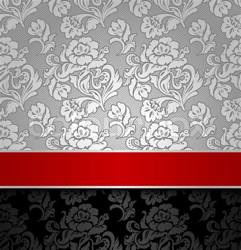 Home Decor Wiki by Seamless Decorative Background Silver With A Red Ribbon