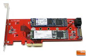 We plugged the card into an open PCI Express x16 slot on our ASUS X99 ... Dual M.2 Pcie Ssd Adapter