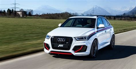when did vw buy audi audi rs q3 gets 410 hp from abt is still autoevolution