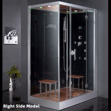 Sliding Shower Screen For Bath dz961f8 steam shower 59 1 quot x35 4 quot x89 quot perfect bath canada