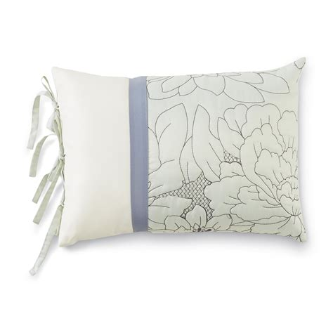 leaf pattern pillow jaclyn smith decorative rectangle throw pillow leaf